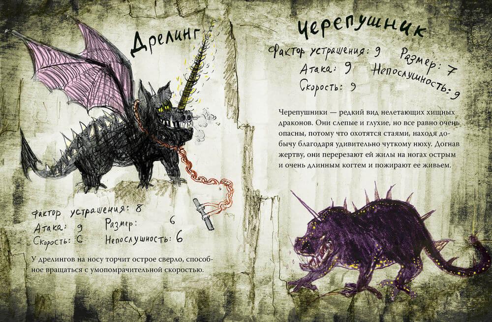 картинки с информацией о драконах рожденья